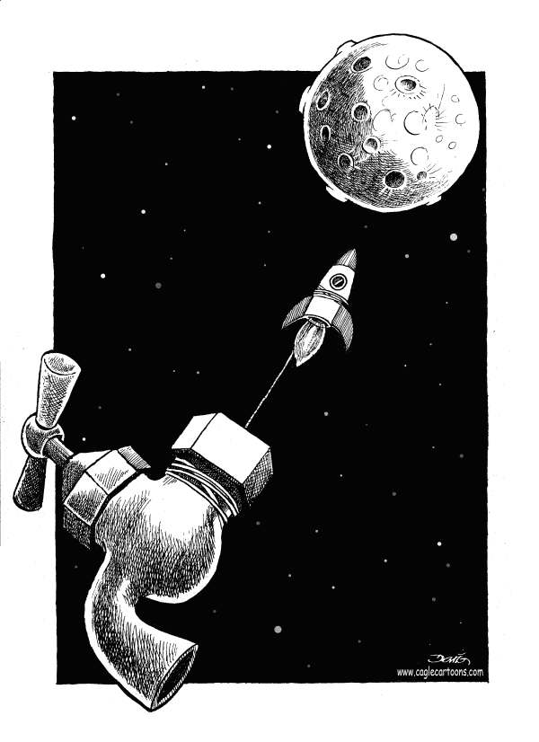 71502 600 Water on the Moon cartoons