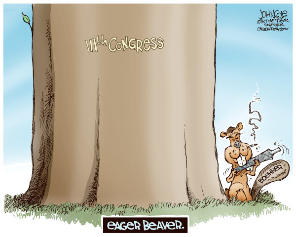 87664 600 Boehner the eager beaver cartoons