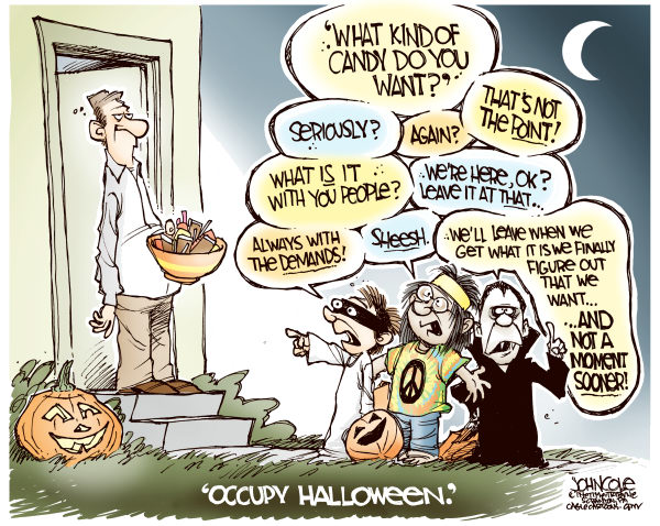 99471 600 Occupy Halloween cartoons