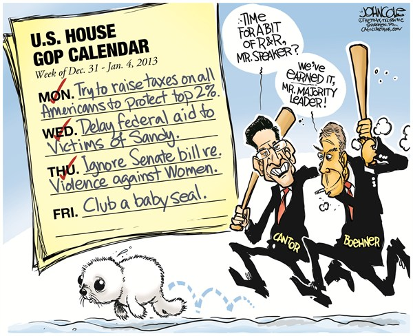 124933 600 Boehner and Cantor go clubbing cartoons