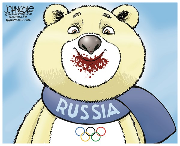 145157 600 The Russian Bear cartoons