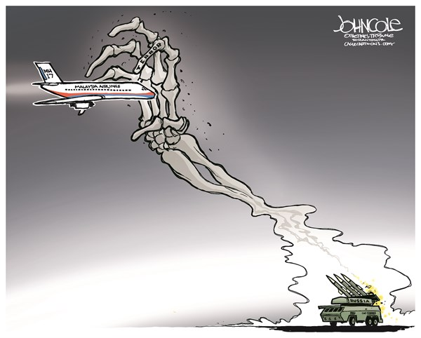 151118 600 Russia and MH17 cartoons
