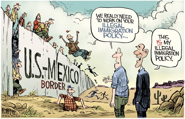 99768 600 Illegal Immigration cartoons