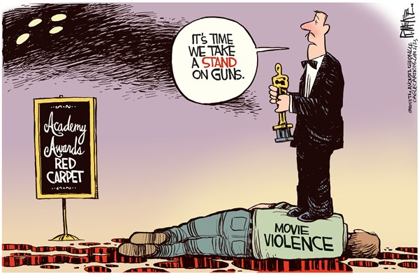 Bloodstained Hypocrisy of Hollywood's Violence Profiteers
