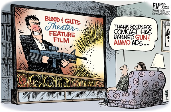 129292 600 Comcast Bans Gun Ads cartoons