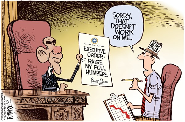 150508 600 Obama Poll Numbers cartoons