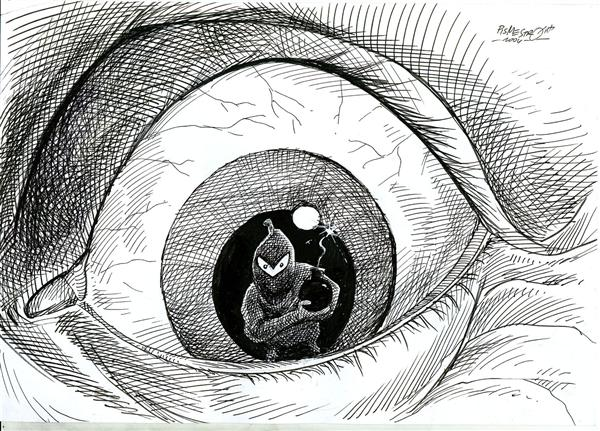 Petar Pismestrovic - Kleine Zeitung, Austria - terrorism - English - terror, war, usa, middle east, israel, mid east, mideast, fear, bombs, bombing, suicide bombers, iraq, spain, al qaeda