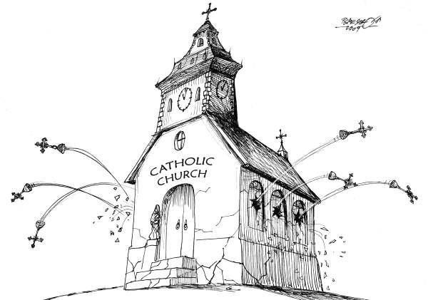 Petar Pismestrovic - Kleine Zeitung, Austria - Conflict - English - Church, Catholic, Pope, Vatican, Rom, Germany, Europe,