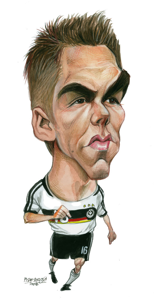 Petar Pismestrovic - Kleine Zeitung, Austria - Philip Lahm, capitan of Germany - English - Philip Lahm, Soccer, Germany, Africa, 2010, Soccer World Champion