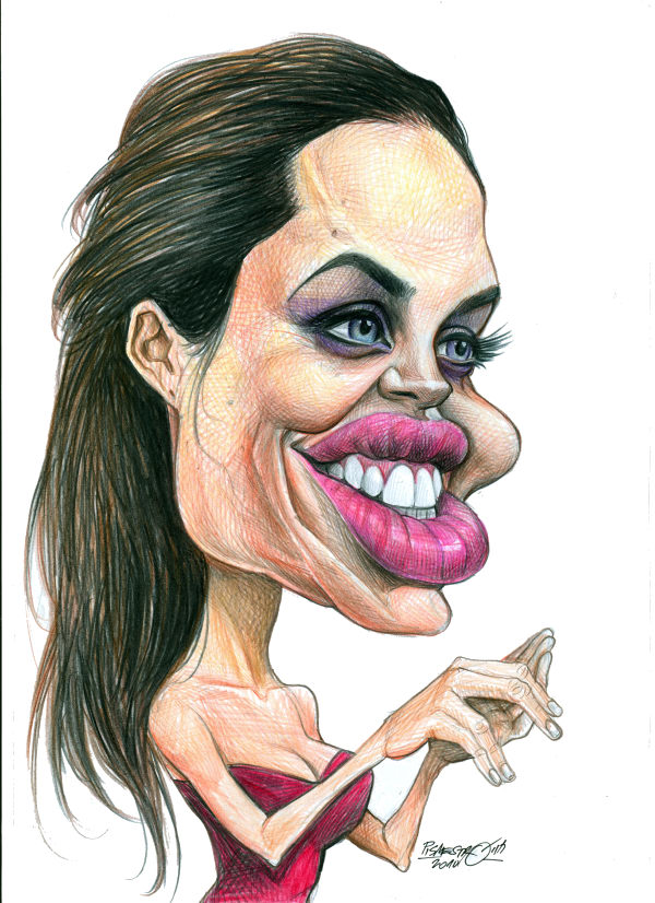 Petar Pismestrovic - Kleine Zeitung, Austria - Angelina Jolie`s smiles - English -  Angelina Jolie, Actor, Movie, Hoolywood, Africa, Asia, Humanist, Rich- Poverty