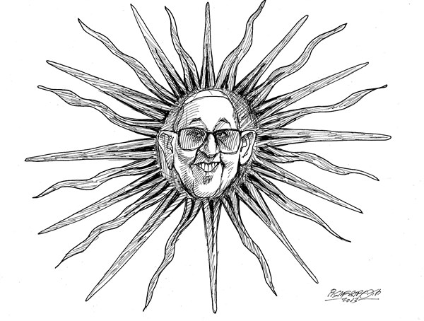 Petar Pismestrovic - Kleine Zeitung, Austria - New Sun at the Catholic Heaven - English - Pope, Franscus I, Argentina, Varican, Europe, Church, Poeple