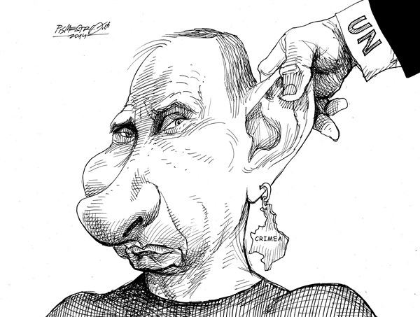 Petar Pismestrovic - Kleine Zeitung, Austria - Educations methods - English - Vladimir Putin, Russia, Crimea, Ukraine, UN, Critic,