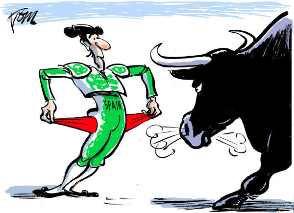 Tom Janssen - The Netherlands - Spain broke - English - Spain and the financial cris, Spain broke, eurocrisis,