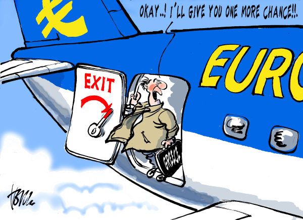 Tom Janssen - The Netherlands - Greece vote for Euro - English - Greece vote for Euro, Greece elections, Greece , Eurozone, Eurocrisis