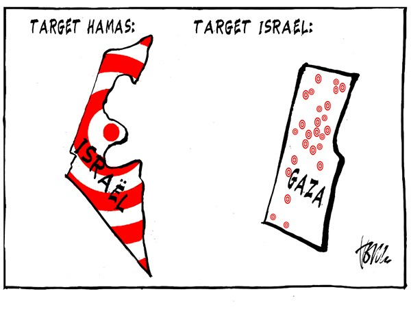 Tom Janssen - The Netherlands - Target Hamas and Israel - English - Hamas Israel, target Hamas target Israel,