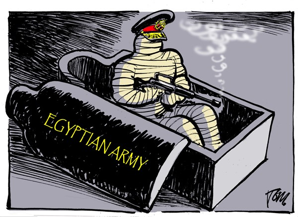 Tom Janssen - The Netherlands - Egyptian mummie - English - Egyptian army coup