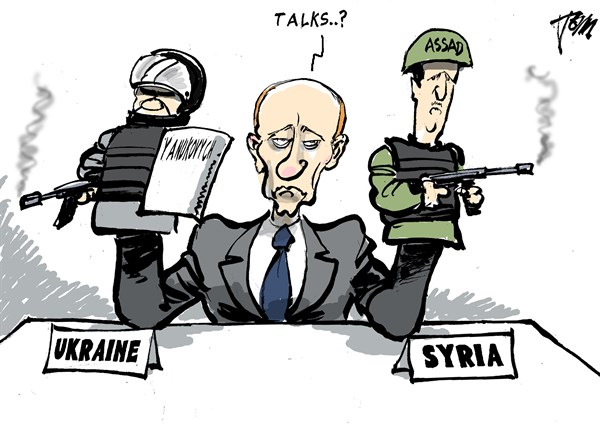 Tom Janssen - The Netherlands - Ukraine talks - English - Ukraine , Putin,