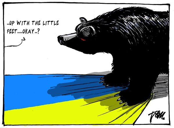 Tom Janssen - The Netherlands - Ukraine and the bear - English - Ukraine and Russia