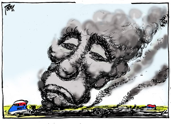 151169 600 Putin and flight MH17 cartoons