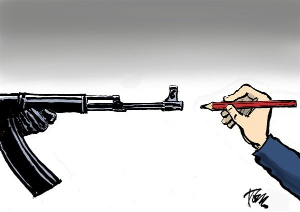 158284 600 Charlie Hebdo attack cartoons