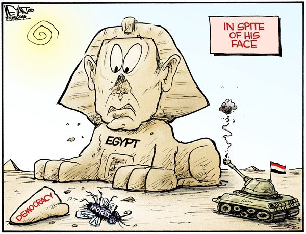 134212 600 Egypt   In Spite of His Face cartoons