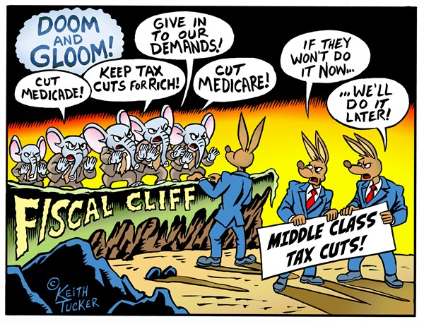 122997 600 Fiscal Cliff Doom Gloom cartoons