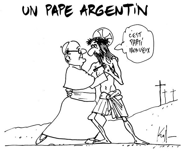 128678 600 A pope from Argentina cartoons