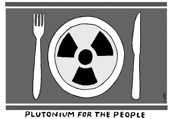 Schot - De Volkskrant, Netherlands - North Korea - English - North Korea, plutonium, hunger, food, war, nuclear bomb