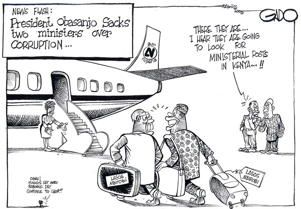 140882 600 Search for ministerial posts in Kenya cartoons