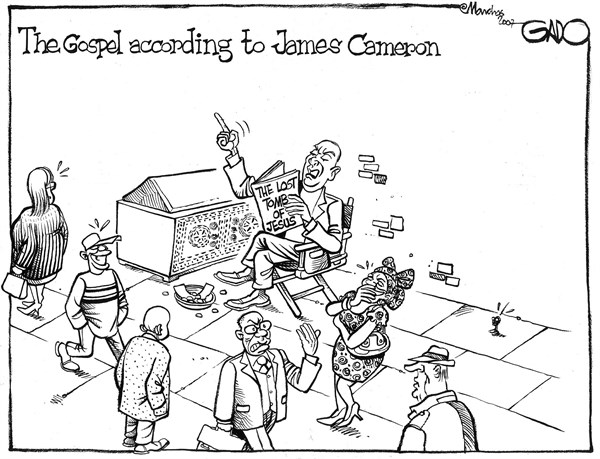 The gospel according to James Cameron © GADO,gadocartoons.com,England, World, Religion
