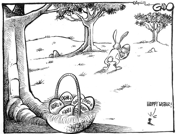 142439 600 Happy Easter cartoons
