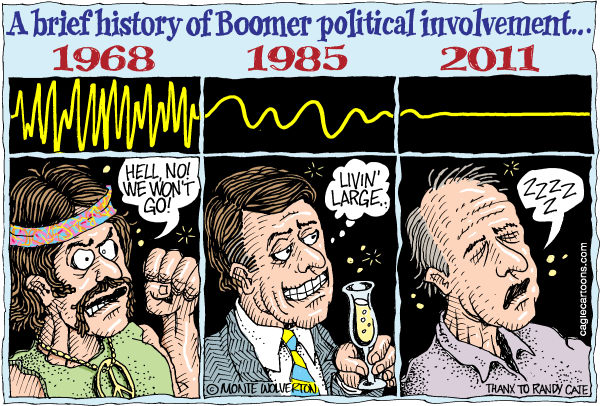 87574 600 History of Boomer Political Involvement cartoons