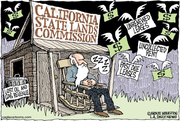 97324 600 LOCAL CA California State Lands Commission cartoons