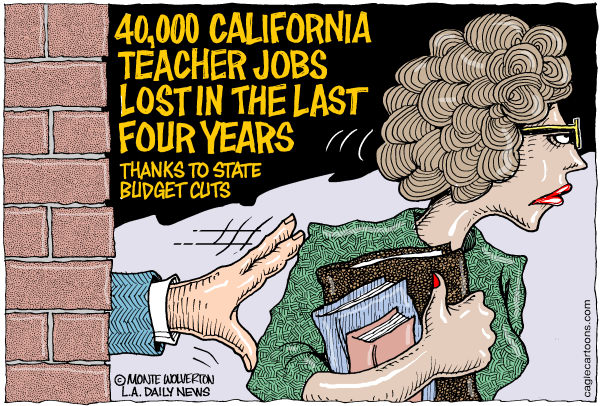 104035 600 LOCAL CA 40000 Teachers Ousted cartoons