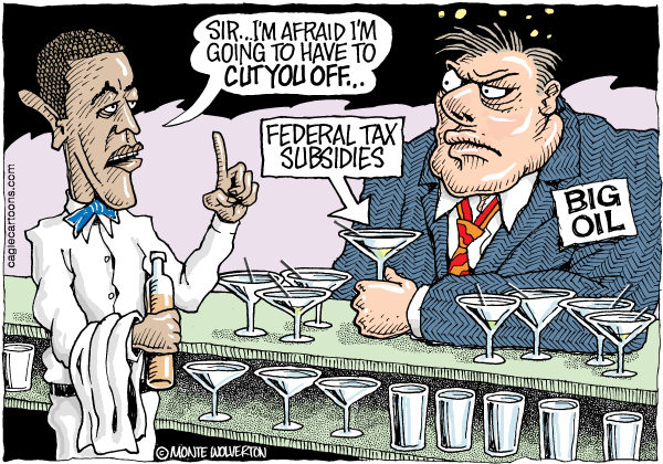 108386 600 Obama Cutting Big Oil Subsidies cartoons