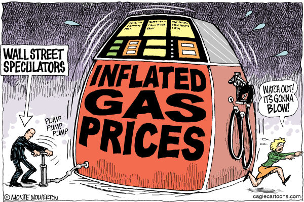 109188 600 Wall St Speculation and Gas Prices cartoons