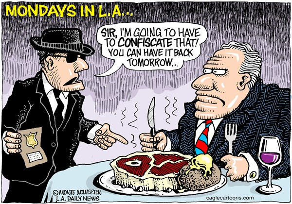 122430 600 LOCAL CA LA Meatless Mondays cartoons
