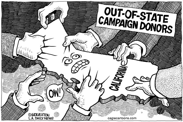 Political Action Committee Cartoons
