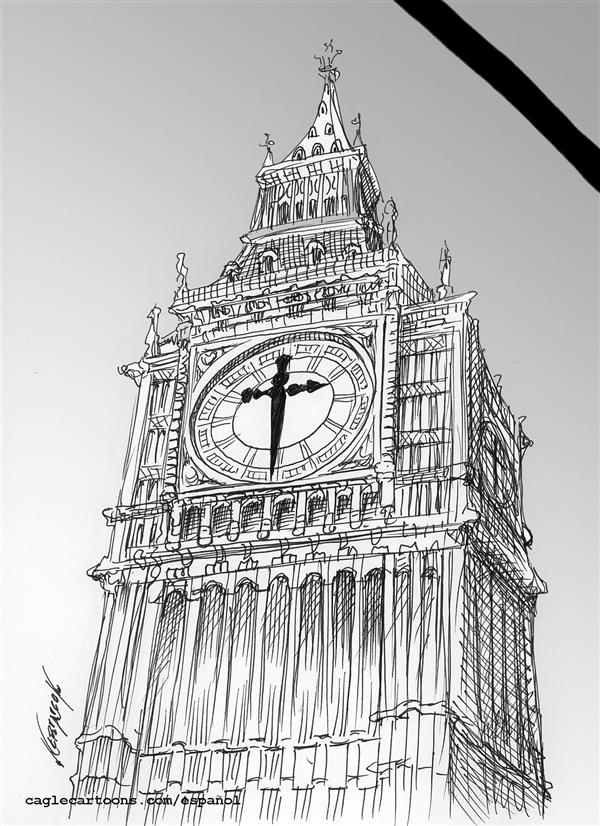 Antonio Neri Licón - El Economista, Mexico - The Hour in London - English - big ben clock bomb london bombing, time sword,cross