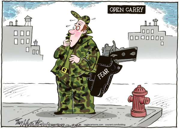 77364 600 Open Carry cartoons