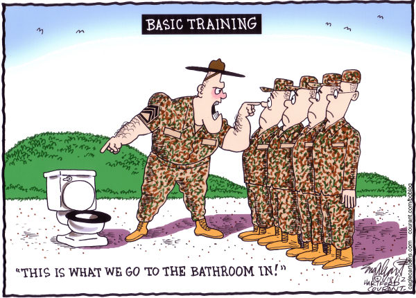 104679 600 Urinating Soldiers cartoons