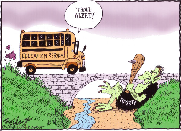 Bob Englehart - The Hartford Courant - Education Reform - English -
