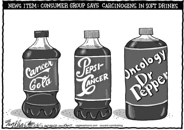 Bob Englehart - The Hartford Courant - Carcinogens - English -