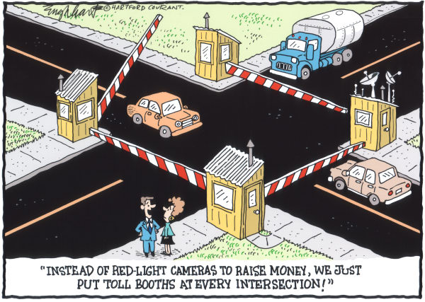 108034 600 Red Light Cameras cartoons