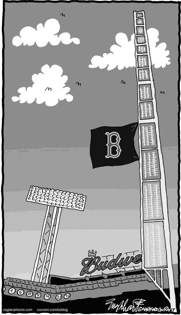 Bob Englehart - The Hartford Courant - Johnny Pesky 1919-2012 - English -