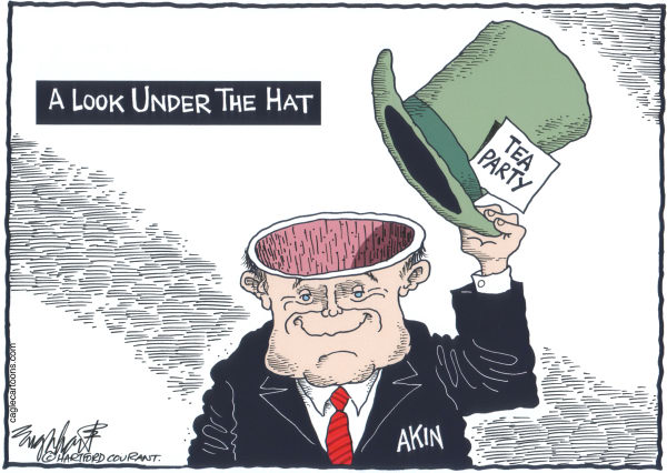 Bob Englehart - The Hartford Courant - Akin - English -