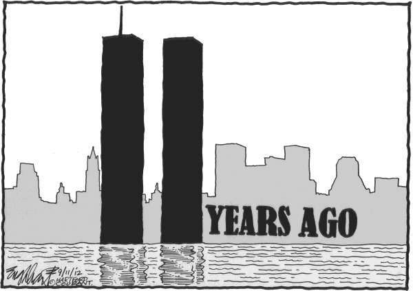 Bob Englehart - The Hartford Courant - 9-11 - English -