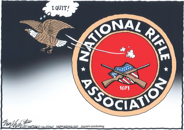 Bob Englehart - The Hartford Courant - NRA - English -