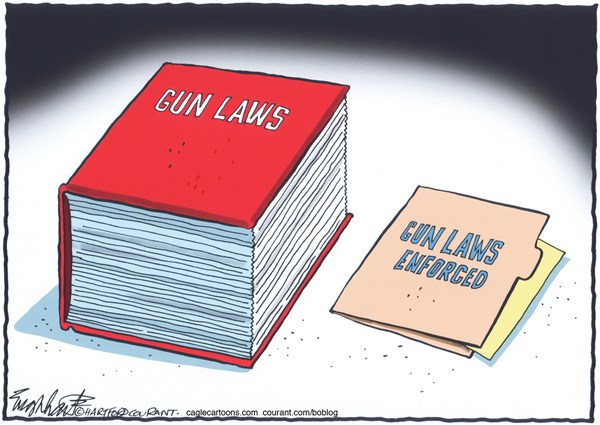 126238 600 Gun Laws cartoons