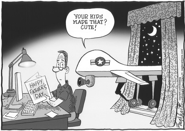 Bob Englehart - The Hartford Courant - Father's Day - English -